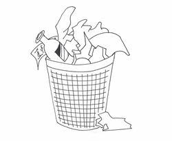 Koľko krát do týždňa naplníte vo vašej domácnosti smetný kôš do plna?
